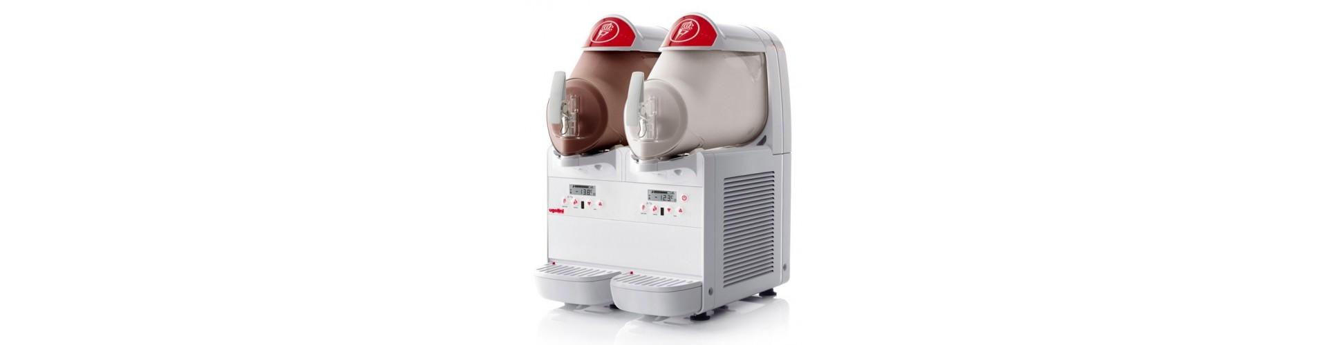 Šerbeto, ledų gamybos aparatai